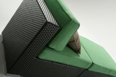 habana modulare moro chaise longue
