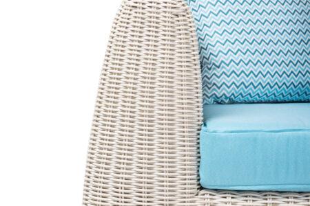 cactus lounge set bianco wash with premium cushions bahia (detail)