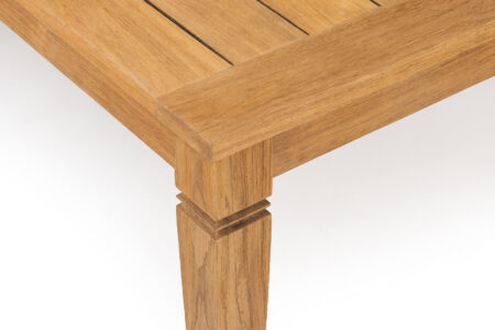 Java dining table 147x147 detail